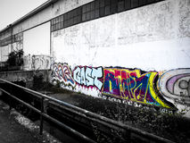 Graffiti stockfotografie