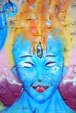 Graffiti. Art painted on wall Stock Photography
