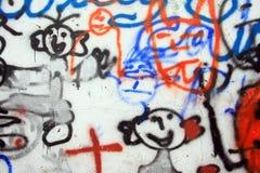 Graffiti royalty free stock photos