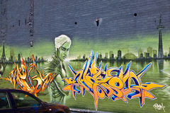 Graffiti Photographie stock