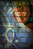 Graffiti. Picture of wall with graffiti Royalty Free Stock Photo