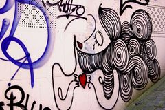 graffiti Foto de Stock