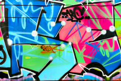 Graffiti Royalty-vrije Stock Foto's