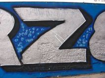 Graffiti illustration stock