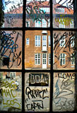 graffiti Fotografia Royalty Free