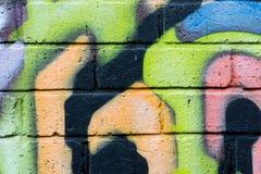 Graffiti 6 Fotografie Stock
