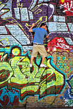 Graffiti Stockfoto