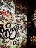 graffiti Fotografia de Stock