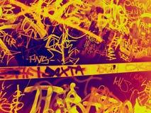 Graffiti Fotografie Stock