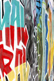 Graffiti abstract background stock images