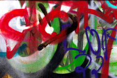 Graffiti Abstract Creative Background Color Stock Image