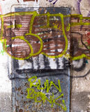 Graffiti Abstract Creative Background Color Royalty Free Stock Photo