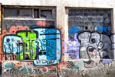 Graffiti Abstract Creative Background Color Royalty Free Stock Photos