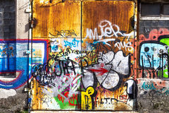 Graffiti Abstract Creative Background Color Stock Photo