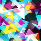 Graffiti abstract geometric background vector illustration Royalty Free Stock Photography