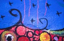 graffiti abstrakcyjna pracy Obrazy Royalty Free