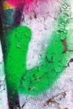Graffiti-abstrakte kreative Hintergrund-Farbe Lizenzfreies Stockbild