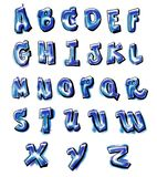Graffiti alphabet Stock Photo