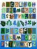 Graffiti Alphabet Sets Stock Photo