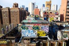 Graffiti americani Fotografie Stock Libere da Diritti