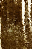 Graffiti on an ancient wall Stock Photos