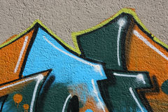 Graffiti art Stock Photography