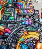 Graffiti - art de rue image libre de droits