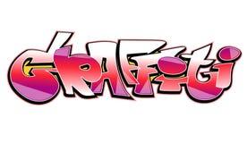 Graffiti art  design Stock Image