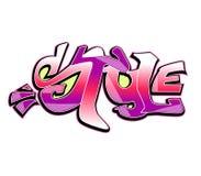 Graffiti art  design, style Stock Image
