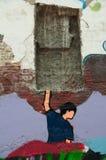 Graffiti Art Macau Stock Photography