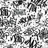Graffiti Art Seamless Pattern Stock Fotografie