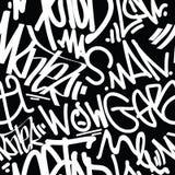 Graffiti Art Seamless Pattern Royalty-vrije Stock Foto's