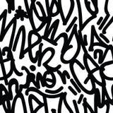 Graffiti Art Seamless Pattern Stock Images