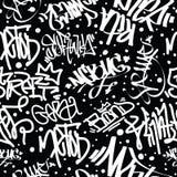 Graffiti Art Seamless Pattern Royalty Free Stock Photo