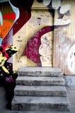 Graffiti art. Some graffiti art in the city center of Basel, Switzerland Stock Photos