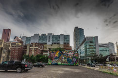 Graffiti Art in Toronto Royalty Free Stock Image
