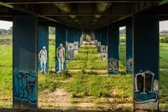 Graffiti art Stock Images