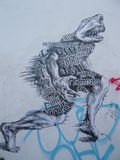 Graffiti Art Urban Art Street Art LONDON Royalty Free Stock Image