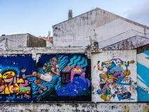 Graffiti art Stock Image