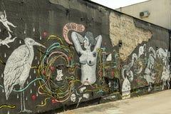 Graffiti art Stock Photo