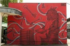 Graffiti art Stock Photos