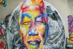 Graffiti - arte della via Fotografia Stock Libera da Diritti