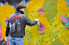 Graffiti Artist Royalty Free Stock Photo