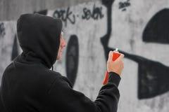 Graffiti Artist Royalty Free Stock Photography