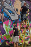 Graffiti artists Royalty Free Stock Image