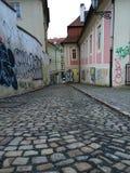 Graffiti auf den Wänden Lizenzfreie Stockbilder