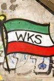 Graffiti auf der Wand Lizenzfreie Stockfotos