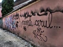 Graffiti auf der Wand Lizenzfreie Stockbilder