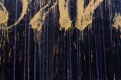 Graffiti auf einer Wand stockbilder