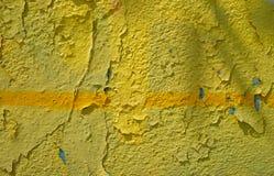 Graffiti auf einer Wand - Detail Graffiti gemalt auf einer Wand Lizenzfreies Stockfoto